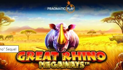 Thumbnail for the post titled: GREAT RHINO MEGAWAYS – PRAGMATIC PLAYS GAMES SLOT